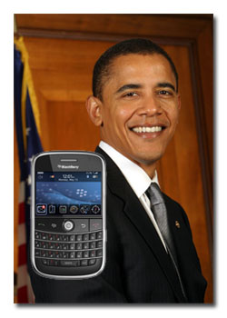 Why Isn T A Blackberry Secure Enough For Barack Obama